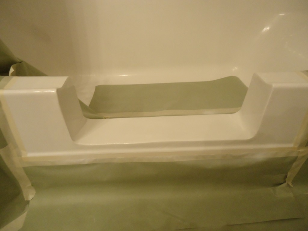fiberglass bathtub cut out first choice refinishers. Black Bedroom Furniture Sets. Home Design Ideas